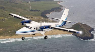 Ilustrasi pesawat Twin Otter hilang di Nepal