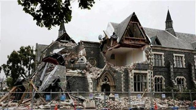 Dampak gempa yang mengguncang Christchurch pada 2011