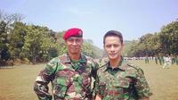 Choky Sitohang dan Brigjen TNI I Gusti Putu Danny Karya Nugraha (https://www.instagram.com/p/COGSKlABIpw/)