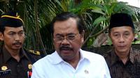 Jaksa Agung HM Prasetyo meminta supaya para pelaku pemerkosaan dihukum kebiri (Liputan6.com/Yuliardi Hardjo)