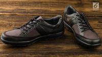 Ilustrasi Sepatu Pria (iStockphoto)