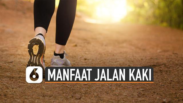 Jalan kaki kerap kali disepelekan oleh masyarakat, yang ternyata mempunyai beberapa manfaat bagi tubuh.