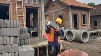 Kementerian PUPR tengah melakukan pembangunan Sarana Hunian Pariwisata (Sarhunta) di Kawasan Starategis Pariwisata Nasional (KSPN) Borobudur, Jawa Tengah. (Foto:Kementerian PUPR)