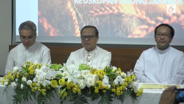 Uskup Agung Jakarta Ignatius Suharyo meminta umat Katolik memahami, mendalami dan harus dapat mengamalkan nilai-nilai Pancasila.