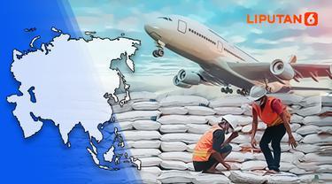 Ilustrasi impor beras (Liputan6.com / Abdillah)