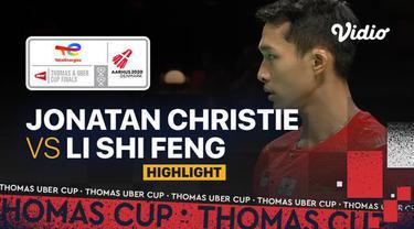 Berita Video, Hasil Pertandingan Indonesia Vs China di Final Piala Thomas 2020 pada Minggu (17/10/2021)