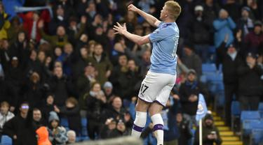 Manchester City Taklukkan West Ham di Etihad