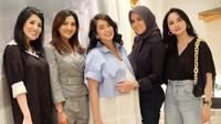 Ussy Sulistiawaty lakoni baby shower (Instagram/ussypratama)