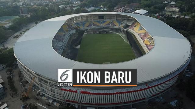 Jokowi perkenalkan ikon baru Kota Solo lewat akun instagramnya yakni Stadion Manahan yang pembangunannya akan rampung pada September 2019.