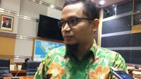 Wakil Ketua Komisi I dari fraksi Partai Amanat Nasional (PAN), Hanafi Rais, saat ditemui di Jakarta, Senin (9/4/2018). Liputan6.com/Andina Librianty