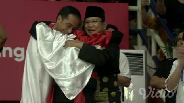 Asian Games Pengakuan Hanifan Soal Pelukan Untuk Jokowi Dan Prabowo