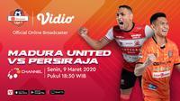 Saksikan Live Streaming Shopee Liga 1 2020 Antara Madura United VS Persiraja Hanya di Vidio