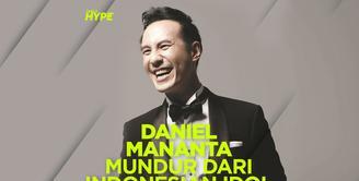 Apa alasan Daniel Mananta mundur dari Indonesian Idol? Yuk, kita cek video di atas!