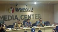 Bawaslu memberikan keterangan pers di kantornya Jakarta. (Liputan6.com/Delvira Hutabarat)