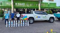 PT PLN (Persero) mulai mengalirkan pasokan oksigen medis ke berbagai Rumah Sakit di Jakarta. Dok PLN