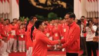 Dapat bonus, para atlet Indonesia tersenyum bahagia (instagam/nahrawi_imam)