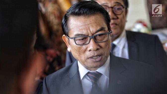 Kepala Staf Presiden RI, Jenderal TNI (Purn) Moeldoko. (Liputan6.com/Faizal Fanani)