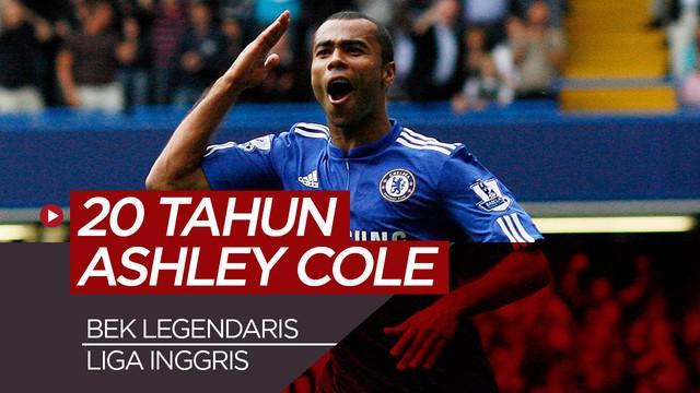 Berita video perjalanan karier Ashley Cole, bek kiri legendaris di Liga Inggris.