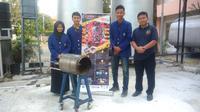 Mahasiswa UNY mencetuskan burner pengganti alat impor dari Jerman (Liputan6.com/ Switzy Sabandar)