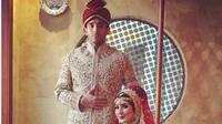 Tadia Nadira - Abdulla Alwi saat pemotretan pre-wedding di Rumah Maroko, Jakarta Pusat. foto: @aldiphoto. (dok.Instagram @tanianadiraa/https://www.instagram.com/p/Bx2tRRtF5Bu/Henry