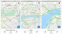 Ikon bangunan-bangunan bersejarah tampil lebih besar di Google Maps (screenshot via Phone Arena)
