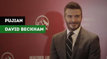 Legenda Manchester United, David Beckham mengakui bahwa Indonesia memiliki banyak pemain berkualitas.