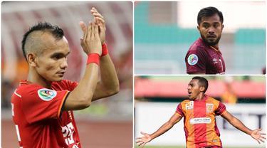 Ratusan pemain berlomba-lomba untuk memperkuat Timnas Indonesia menuju putaran kedua Kualifikasi Piala Dunia 2022. Dari 24 nama yang terpilih, ada beberapa nama pemain top yang tidak masuk dalam daftar. Berikut 7 pemain top yang tidak dipanggil ke Timnas Indonesia. (kolase foto Bola.com)