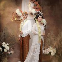 Prewedding Caesar Hito dan Felicya Angelista dalam busana adat Jawa (Sumber: Instagram/fdphotography90)