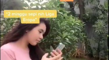 Berita video TikTok Bola.com, melihat reaksi netizen saat Liga-liga di Eropa libur akibat jeda internasional
