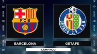 La Liga - Barcelona Vs Getafe (Bola.com/Adreanus Titus)