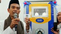Ustaz Abdul Somad dalam suatu kegiatan di Kota Pekanbaru. (Liputan6.com/M Syukur)