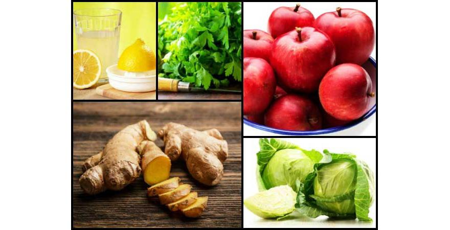 Hilangkan Bau Badan dengan minum jus campuran sayur dan buah