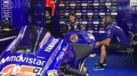 Pembalap Movistar Yamaha, Maverick Vinales. (Twitter/Yamaha MotoGP)