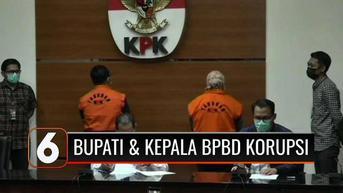 VIDEO: Bupati dan Kepala BPBD Kolaka Timur Jadi Tersangka Kasus Suap 2 Proyek Jembatan
