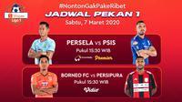 Shopee Liga 1 2020 Duel Persela VS PSIS Akan Ditayangkan Hanya di Vidio. sumberfoto: Vidio