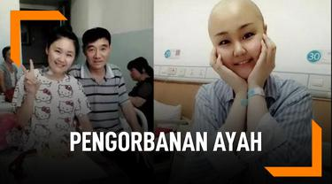 Kena Kanker Semua, Ayah Berkorban Tidak Berobat Demi Anak