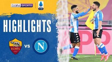 Berita video highlights liga Italia, AS Roma melawan Napoli yang berakhir dengan skor 0-2.