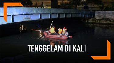 Seorang pria berusia 19 tahun tenggelam di Kali Sunter, Jakarta. Diduga pria tersebut mabuk dan tergelincir masuk ke dalam kali.