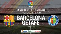 La Liga_Barcelona Vs Getafe (Bola.com/Adreanus Titus)