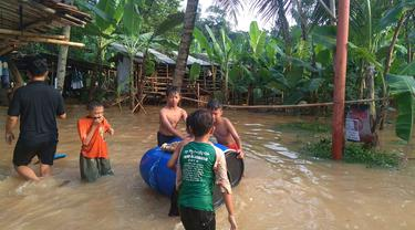 Banjir kiriman di Sawangan, Depok