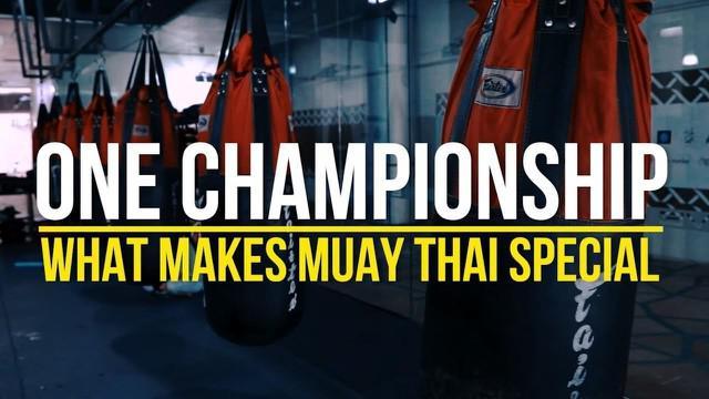 Berita Video Apa yang Membuat Muay Thai Jadi Spesial di One Championship ?