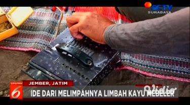 Sekelompok pemuda desa di Jember, Jawa Timur, menyulap limbah pabrik pengolahan kayu menjadi karya seni Pirografi yang indah. Pirografi merupakan karya seni lukis dari bahan kayu menggunakan logam panas.