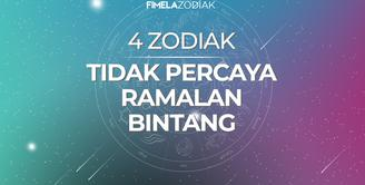 4 Zodiak Ini Tidak Percaya Ramalan Bintang