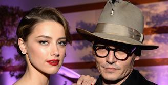 Kasus rumah tangga aktor Johnny Depp dan Amber Heard kian memanas. (AFP/Bintang.com)