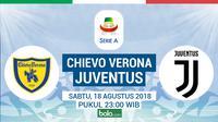 Serie A Chievo Verona Vs Juventus (Bola.com/Adreanus Titus)
