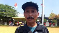Djadjang Nurdjaman, pelatih Barito Putera. (Bola.com/Erwin Snaz)