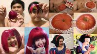 6 Cosplay Low Budget Pakai Apel Ini Bikin Ketawa Geli (sumber: Instagram/lowcostcosplayth)