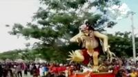Menteri Agama mengapresiasi tema Hari Raya Nyepi tahun ini yang dirasa sesuai dengan cita-cita bangsa, yakni menghargai keberagaman. (Liputan 6 SCTV)