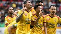 Para pemain bintang Sriwijaya FC dipastikan akan meramaikan Piala Indonesia (Dok. Instagram @sriwijayafc.id / Nefri Inge)