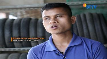 Sosok Brikjon, pemuda inspiratif asal Padangsidempuan, Medan ini berhasil membiayai sekolahnya sendiri hingga S2 dengan menjadi tukang tambal ban. Seperti apa ceritanya?